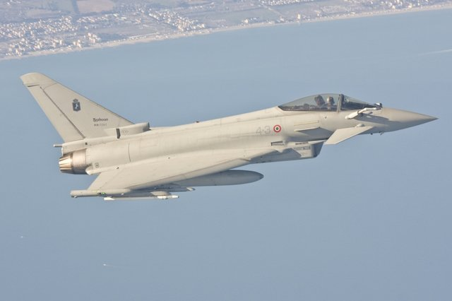 Finmeccanica integrated Mode 5 Reverse IFF to the Italian Typhoons 640 001