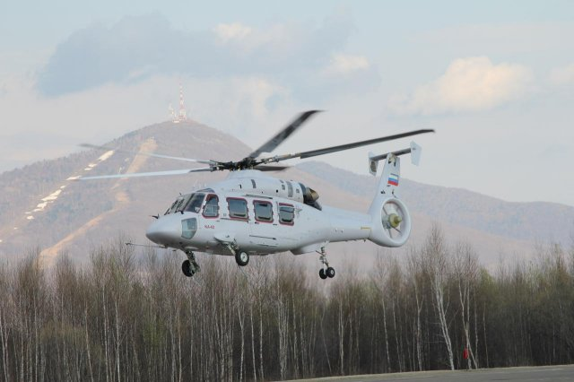Russian Helicopters Ka 62 multipurpose helicopter prototype took to the skies 640 001