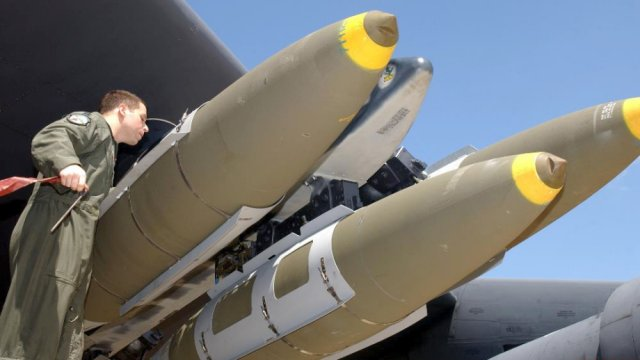 General Dynamics lands a 39mn contract for MK82 84 bombs bodies delivery 640 001