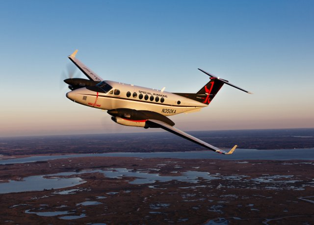 Beechcraft introduces enhanced King Air 350 special missions platform 640 001