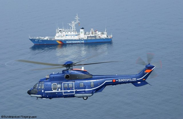 German Bundespolizei orders three Airbus H215 multi role helicopters 640 001
