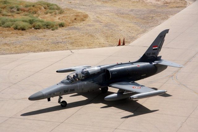 Iraq about to take delivery of first new built Aero L 159 fighter jet 640 001