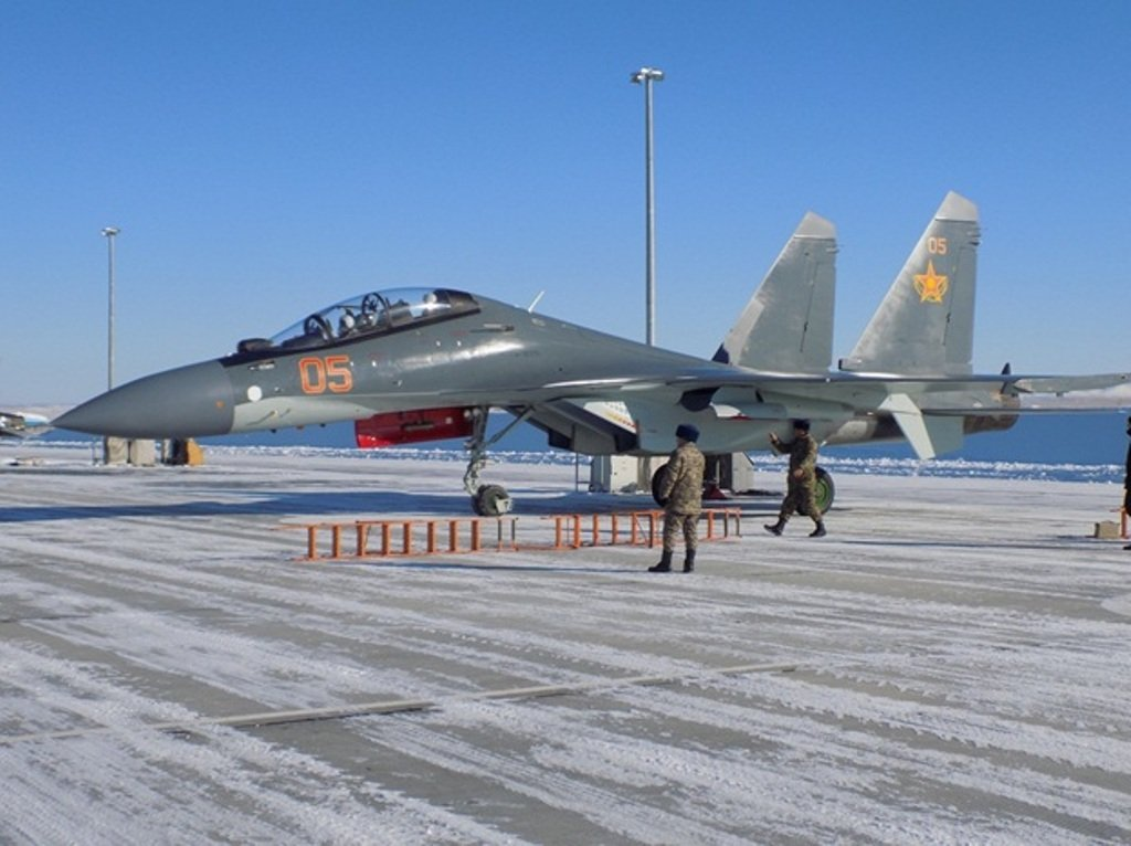 Kazakhstan took delivery of two more Su 30SM fighter jets 640 001