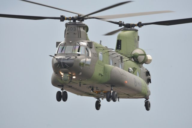 Northrop wins a 9 7 mn contract to fit LAIRCM system on RCAF CH 147F helicopters 640 001