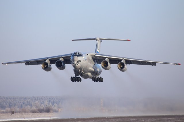 Russia Il 76MD 90A airlifter starts second stage of factory tests 640 001