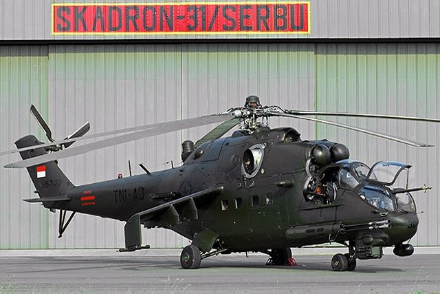 Russia starts overhauling Indonesian Mi 5P attack helicopters 640 001