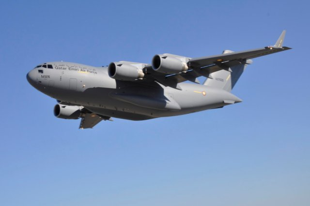 US approves 781 mn orders from Qatar for C 17 airlifters spare parts and support 640 001