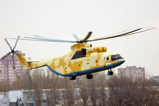 Algeria first Mi 26T2 heavy transport helicopter started flight tests 640 001