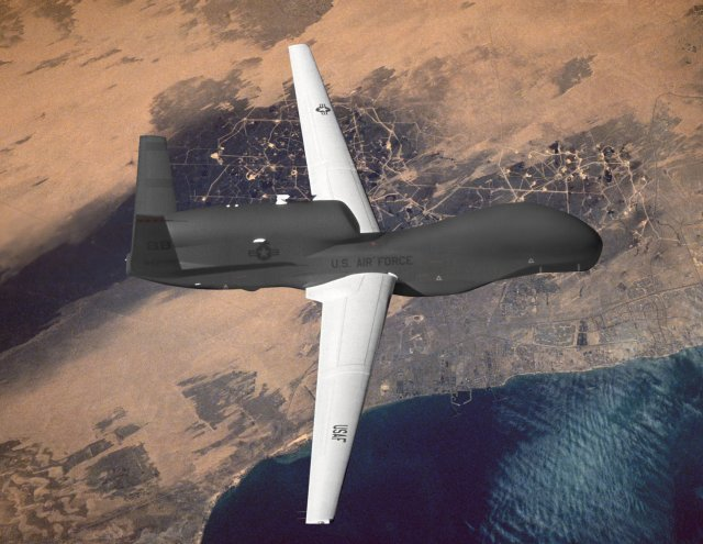 Northrop Grumman successfully tests new SYERS 2 sensor on RQ 4 Global Hawk UAS 640 001