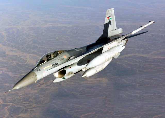 US oks 115 FMS to Jordan for F 16 fighter jets engines support 640 001