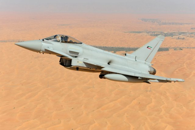 Kuwait will sign deal for 28 Eurofighter Typhoon fighter jets on January 31 640 001