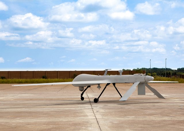 GA ASI conducts first Predator A flight at brand new UAS Training Academy 640 001
