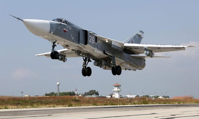 Syrian Air Force reportedly received batch of Su 24M2 bombers from Russia 640 001