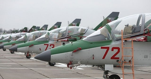 Belarus receives four more Yak 130 advanced jet trainers 640 001