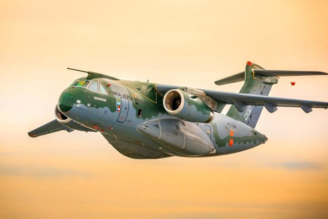Embraer KC 390 airlifter receives Provisional Type Certificate 640 001