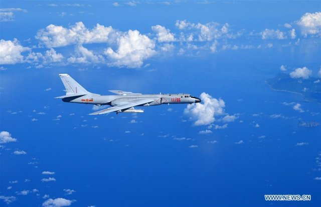 China sends fighter jets and bombers to West Pacific for military drills 640 001