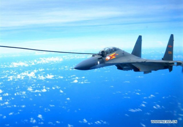 China sends fighter jets and bombers to West Pacific for military drills 640 002