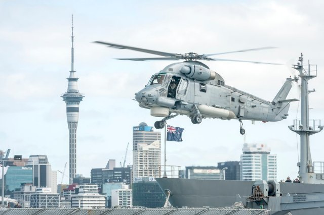 New Zealand s new SH 2G I Seasprite completes first operational mission 640 001