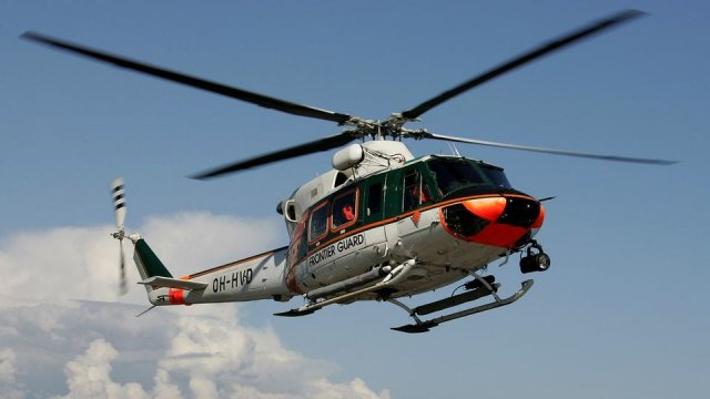 Patria to overhaul Finnish Border Guard s AB 412EP helicopters 640 001