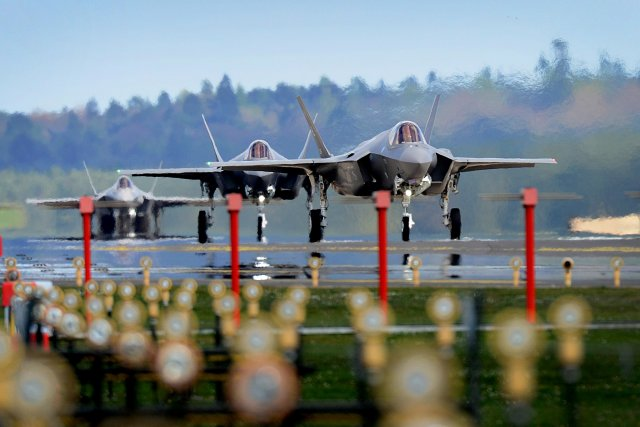 Lockheed Martin F-35s Surpass 100,000 Flight Hours, System Development On Track