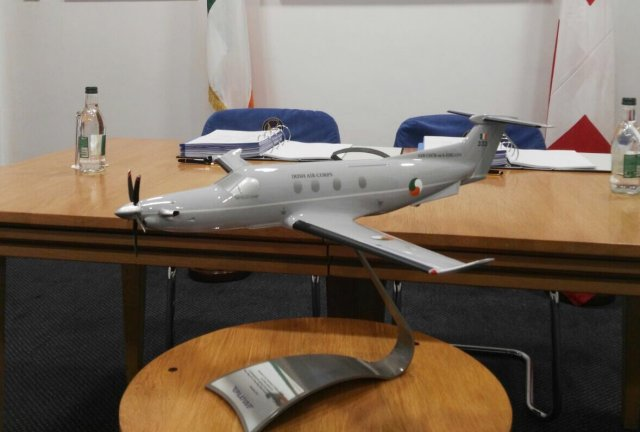 Three Pilatus PC 12NGs for the Irish Air Corps 640 001