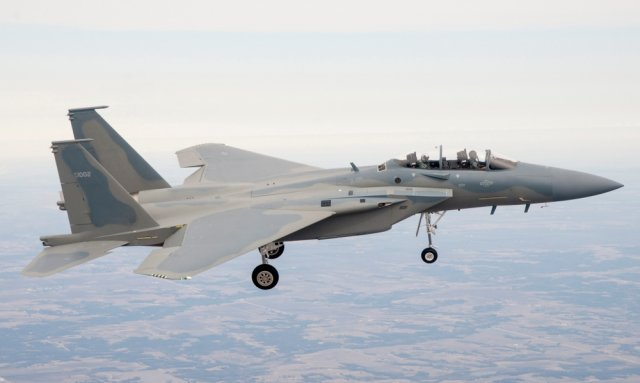 Saudi Arabia orders AN APG 3 V 3 radars for its  F 15SA fighter jets 640 001