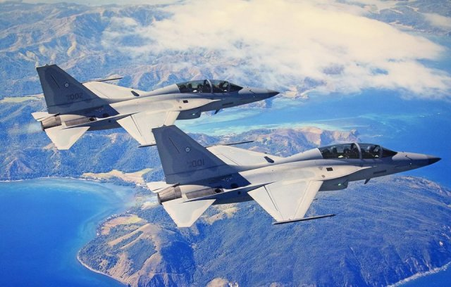 Philippine Air Force s FA 0PH fighter jets conduct first combat missions 640 001