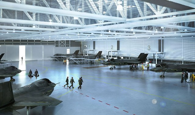 BAE Systems land 50m contract for UK s F 35 fighters fleet support 640 001