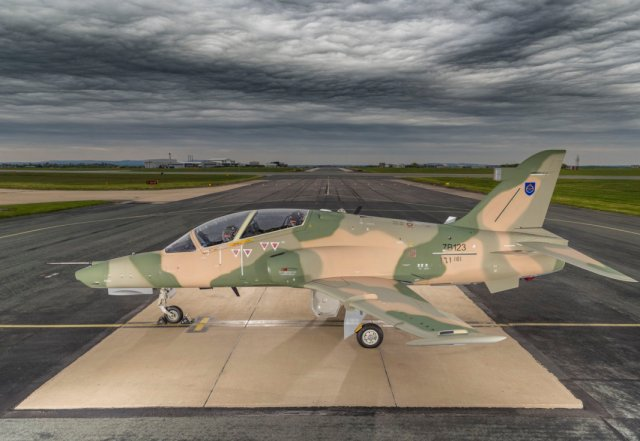 BAE rolls out Royal Air Force of Oman's first Eurofighter