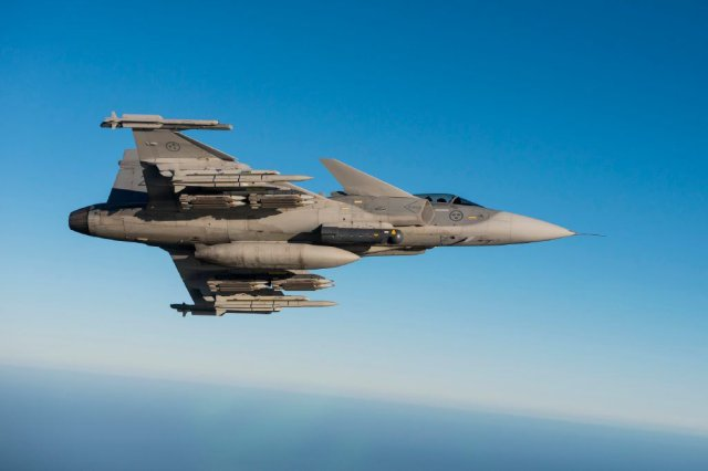 Croatia Sweden Defence Ministers discussing Gripen fighter et procurement 640 001