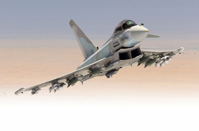 Qatar agrees to buy 24 Eurofighter Typhoon fighter jet 640 001