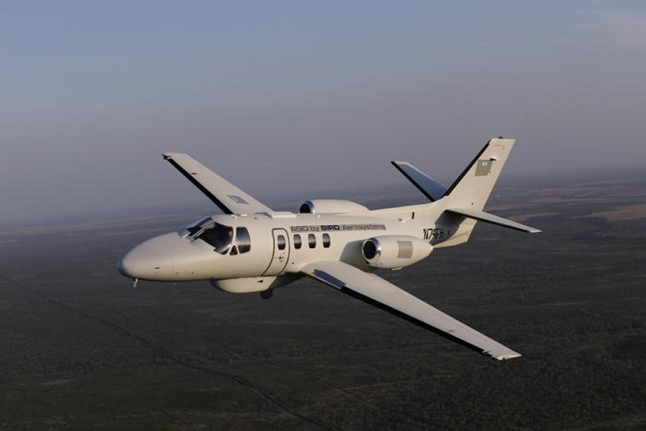 BIRD Aerosystems signs new contract for Mexico s ASIO Special Mission Aircraft fleet support 001