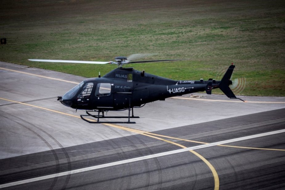 Leonardo SW 4 completes first flight without safety pilot 001