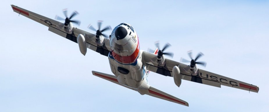 USCG new HC 130J with L3 mission systems 001