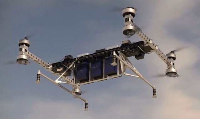 Boeing unveils unmanned electric VTOL cargo air vehicle prototype 640 001