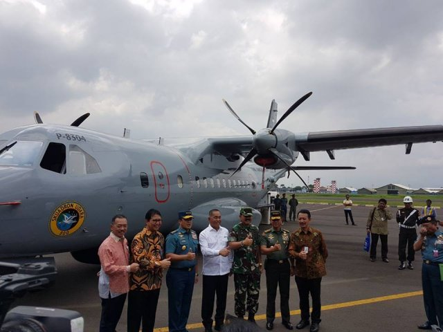 Indonesia armed forces induct new helicopters maritime patrol aircraft 640 001