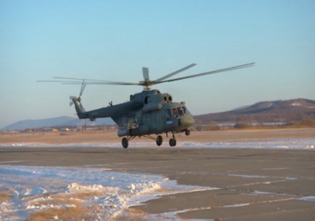 Russia Far EastAir Regiment receives new Mi 8AMTSh V helicopters 640 001