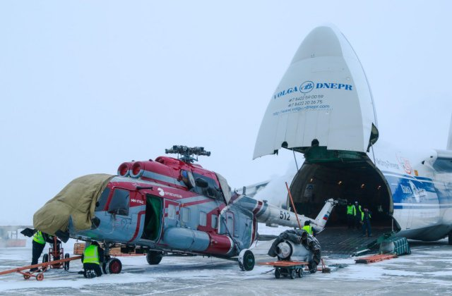 Russian Helicopters Mi 171A2 completes low temperature trials 640 001