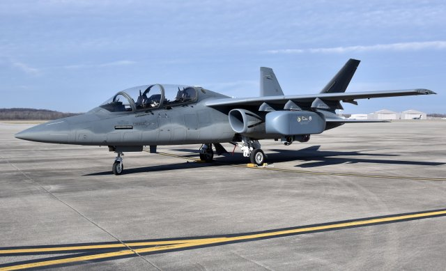 USAF AgilePod successfully integrated on Scorpion light attack ISR jet 640 001