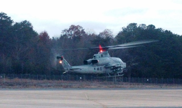 US Navy completed first flight test of JAGM  missile on AH 1Z chopper 640 001
