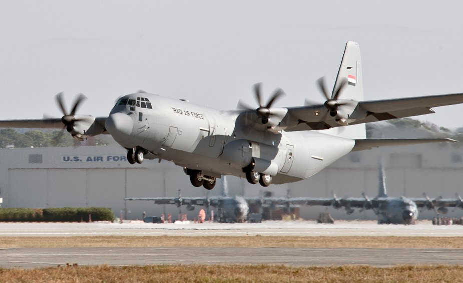 C 130J Iraqi Air Force Lockheed Martin support 001
