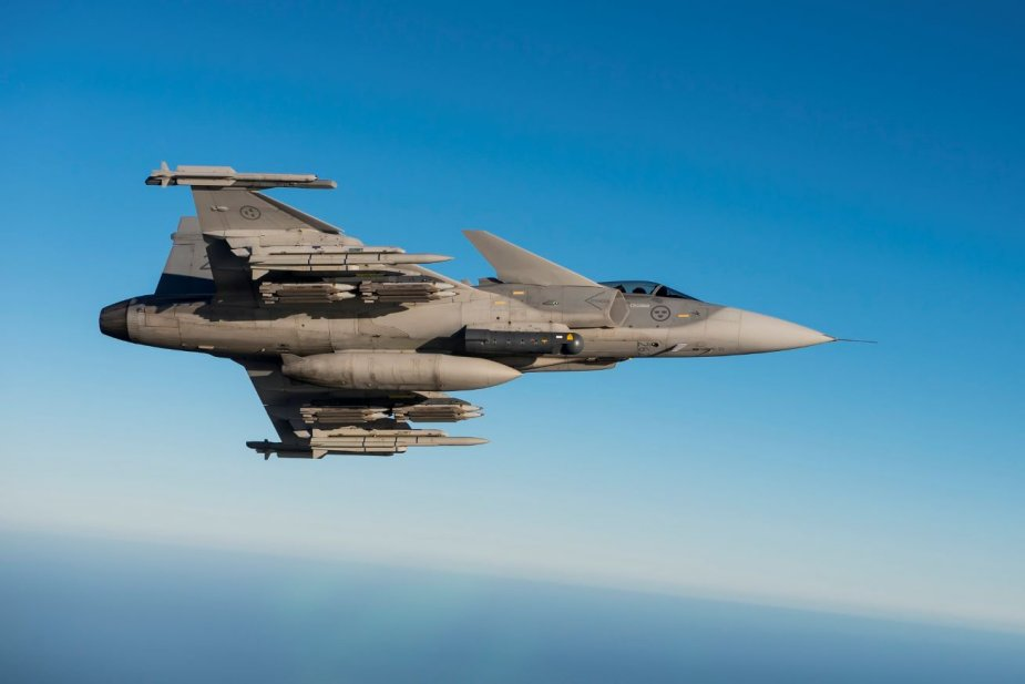 SAAB Gripen of Swedish air force to be upgraded