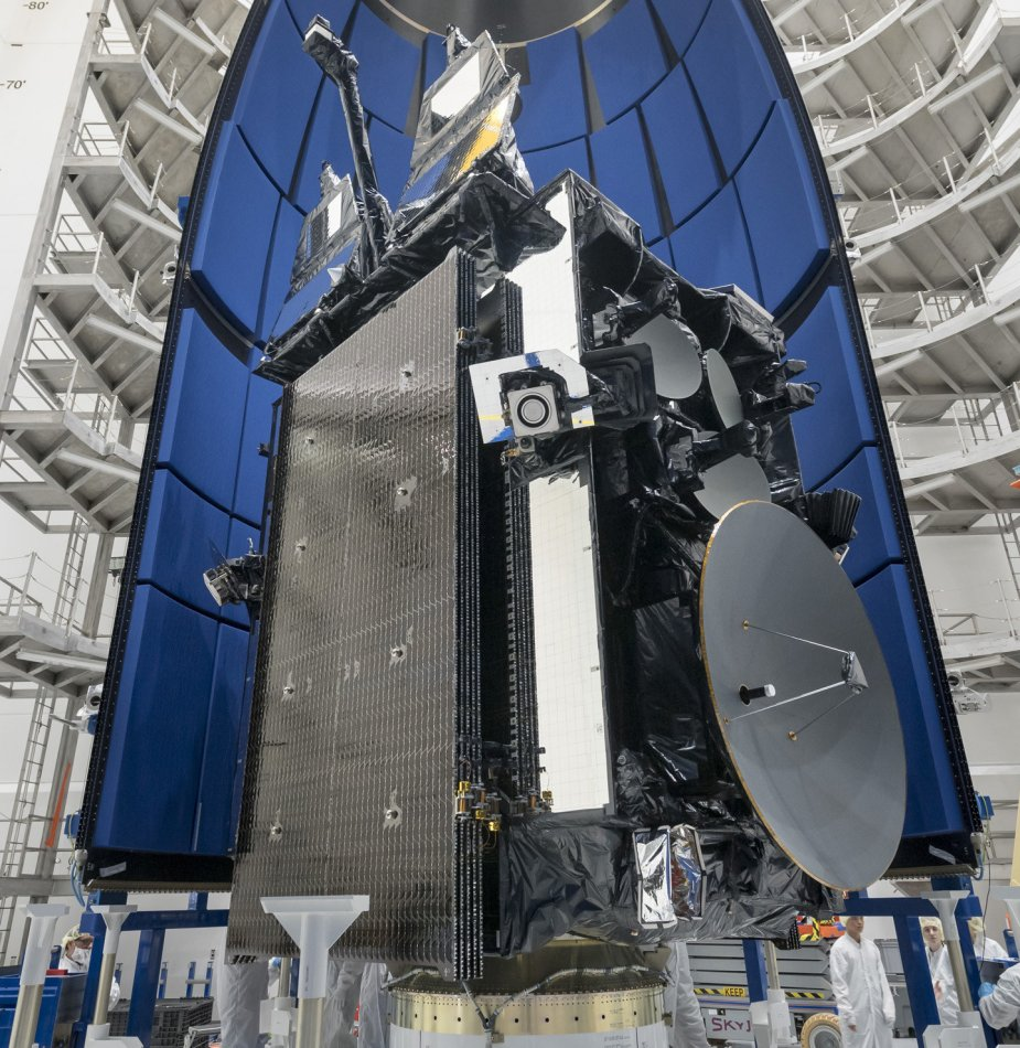 USAF successfully launched 4th Advanced Extremely High Frequency satellite 001
