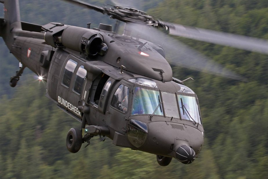 Austria to procure additional Black Hawkelicopter 001