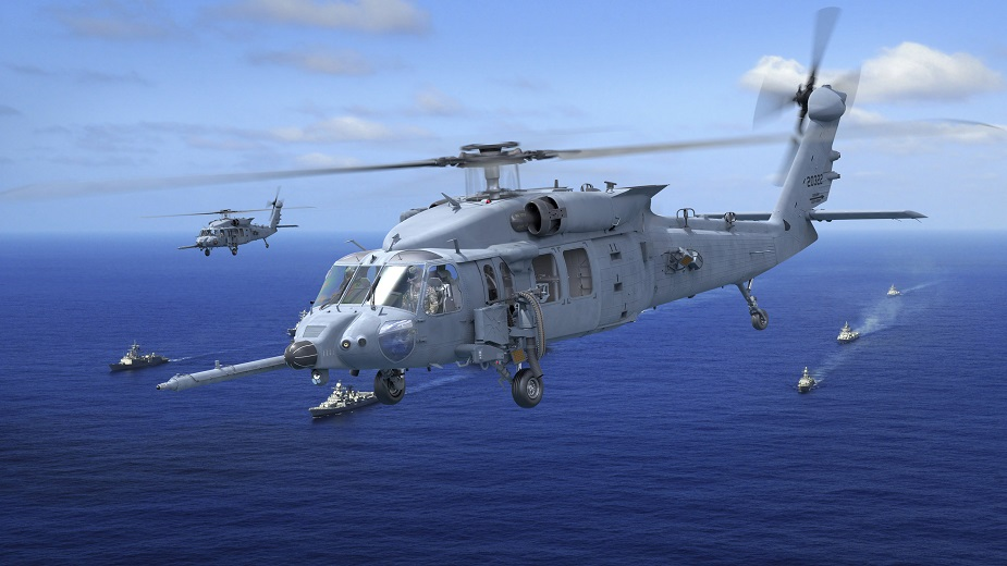Final Assembly of Sikorskys First HH 60W Combat Rescue Helicopter Underway