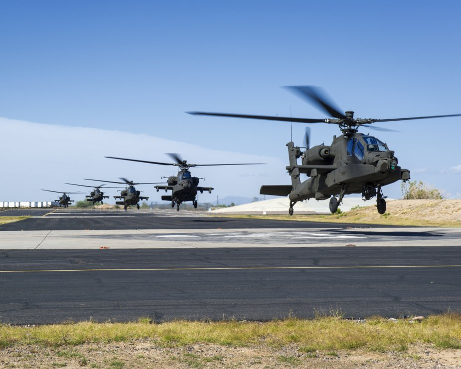 Boeing to integrate improved turbine engine into AH 64E Apache attack helicopter