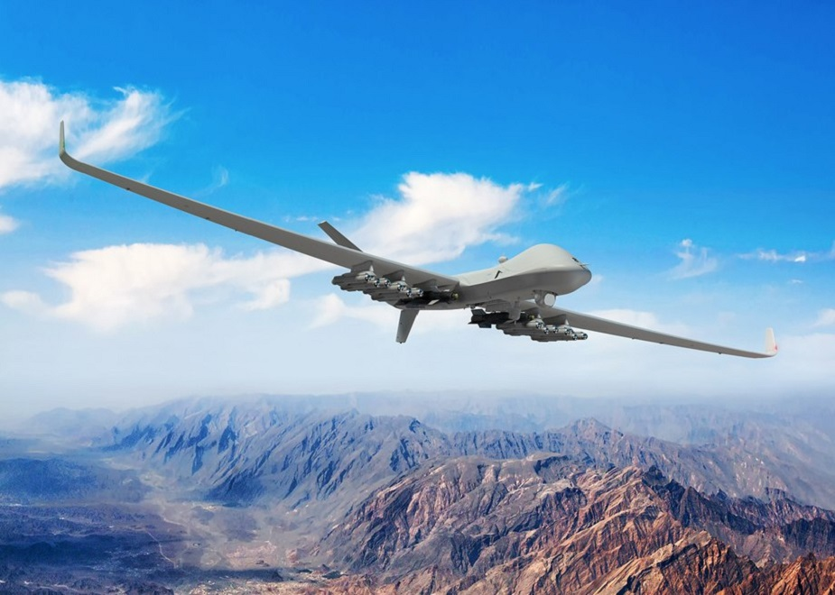 UK Protector Remotely Piloted Aircaft achieves milestone on visit to RAF Squadron