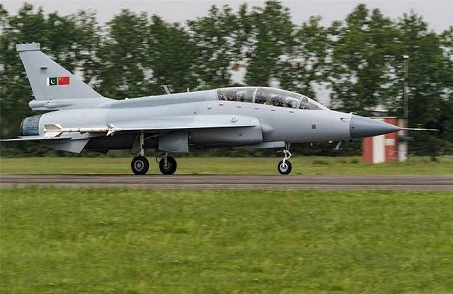 Pakistan Air Force has launched the first batch of dual seats JF 17 fighter aircraft 925 001