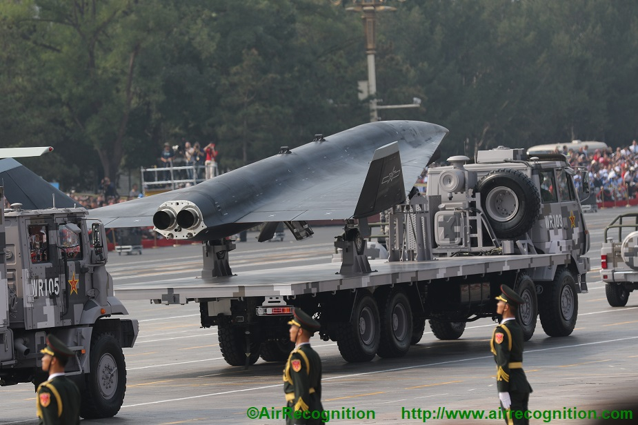 Analysis China exhibits advanced drones in military parade complete list 01