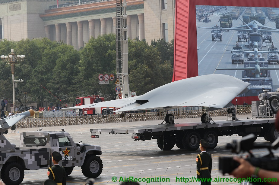 Analysis China exhibits advanced drones in military parade complete list 04